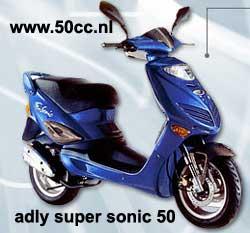 Adly SUPER SONIC 50 onderdelen