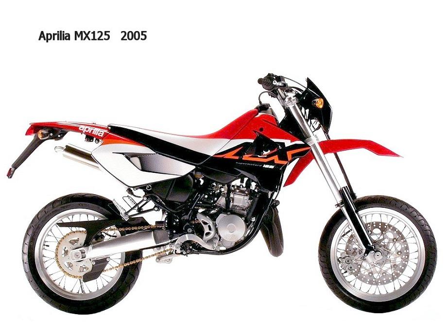 Aprilia MX 125 onderdelen