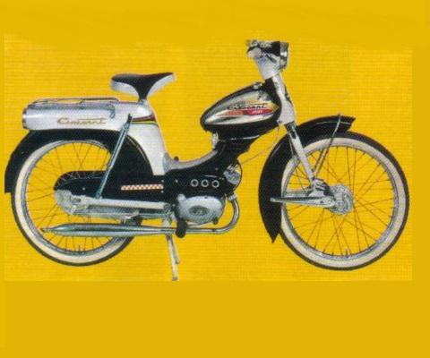 Crescent JETLINE 1965 (RAKETERNA) onderdelen