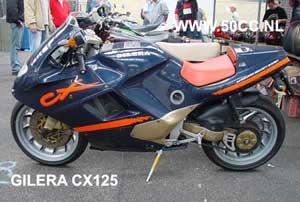 Gilera CX 125 onderdelen