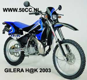 Gilera HAK (DERBI EBE50 ENGINE) onderdelen