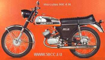 Hercules MK 3 / 4 M 1973-74 onderdelen