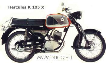 Hercules K 105 X onderdelen