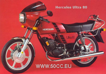 Hercules ULTRA 50 LC 1981-83 onderdelen