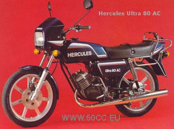 Hercules ULTRA 80 AC 1982-83 onderdelen