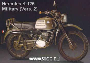 Hercules K 125 MILITARY V 2 onderdelen