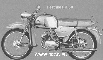 Hercules K 50 1963 onderdelen