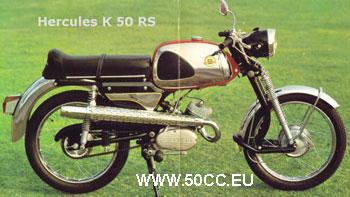 Hercules K 50 RS 1968-70 onderdelen