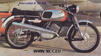 Hercules K 50 RX 1970-72 onderdelen