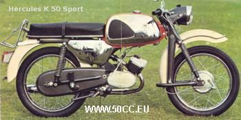Hercules K 50 SPORT 1968-69 onderdelen