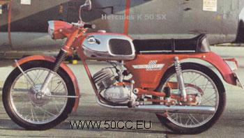 Hercules K 50 SX 1969-72 onderdelen