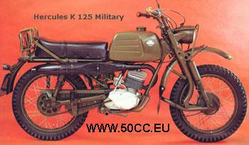 Hercules K 125 MILITARY onderdelen