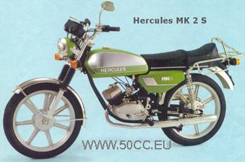 Hercules MK 1 S/MK 2 S 1977-79 onderdelen