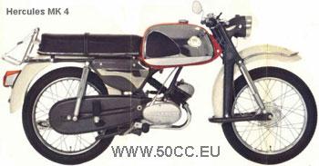 Hercules MK 50 1966-70 onderdelen