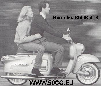 Hercules R 50 / R 50 S (PONNY 2/RABENEIK) onderdelen