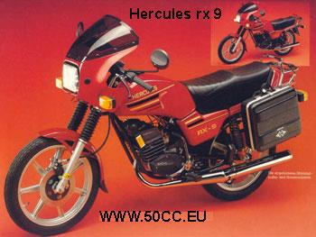 Hercules RX 9 AC 80 onderdelen