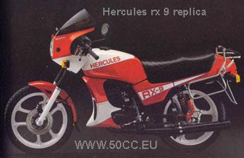 Hercules RX 9 REPLICA onderdelen