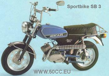 Hercules SPORTBIKE SB 3 onderdelen