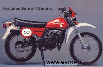 Hercules SUPRA 4 ENDURO 1980 onderdelen