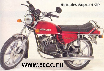 Hercules SUPRA 4 GP 1981-83 onderdelen