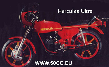 Hercules ULTRA / ULTRA 2 1977-80 onderdelen
