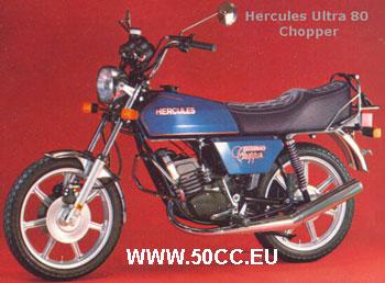 Hercules ULTRA 80 CHOPPER onderdelen