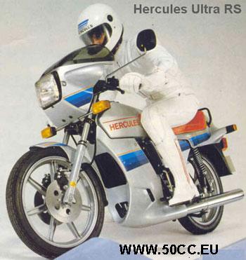 Hercules ULTRA RS 50 1981-83 onderdelen