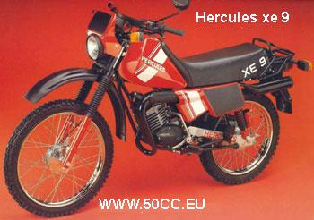 Hercules XE 9 80 onderdelen