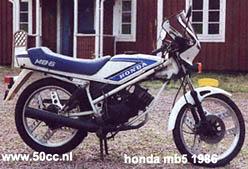 Honda MB5 onderdelen