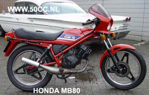 Honda MB8 onderdelen