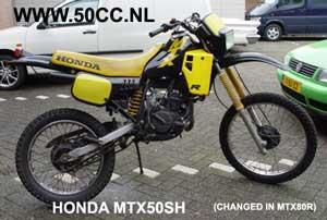Honda MTX50SH onderdelen