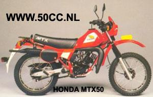 Honda MTX onderdelen
