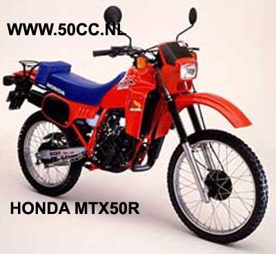 Honda MTX50R onderdelen