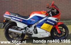 Honda NS400 onderdelen