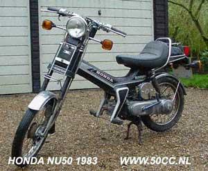 Honda NU 50 onderdelen