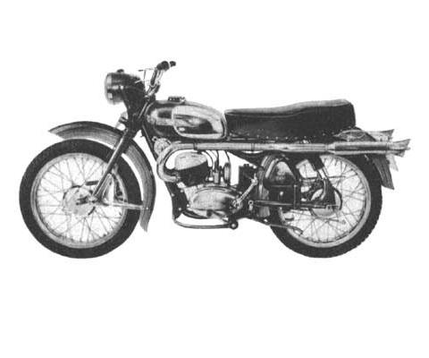 Husqvarna DROMBAGEN SIXDAYS 175CC onderdelen