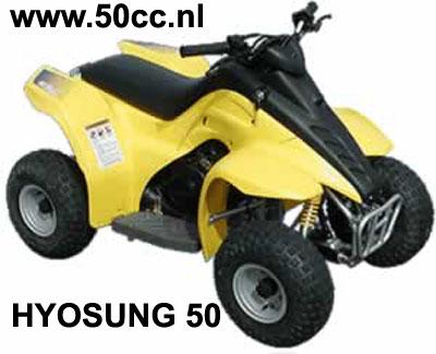Hyosung LYNX 50  QUAD onderdelen