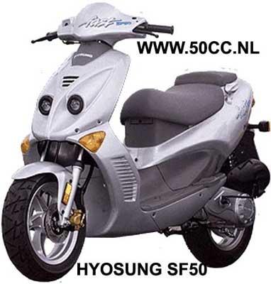 Hyosung SF50 RACING / FAST onderdelen