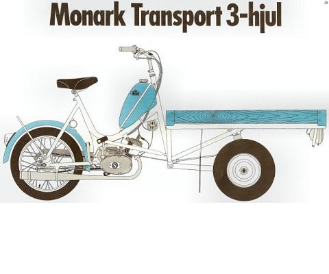 Mcb 1189 TRANSPORT (SACHS 3 HAND) onderdelen