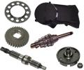 Zundapp 517-35LA  GTS50 4 SPEED Motor delen