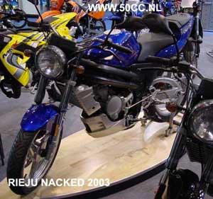 Rieju RS2 NKD onderdelen