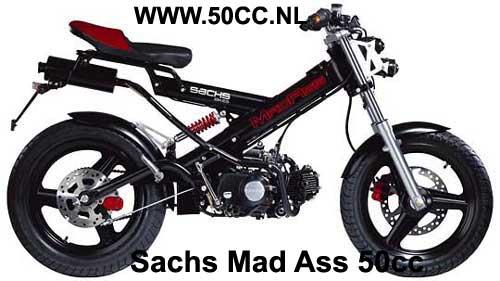 Sachs MADAS 50CC onderdelen
