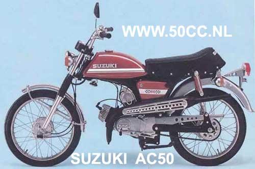 Suzuki AC50 parts