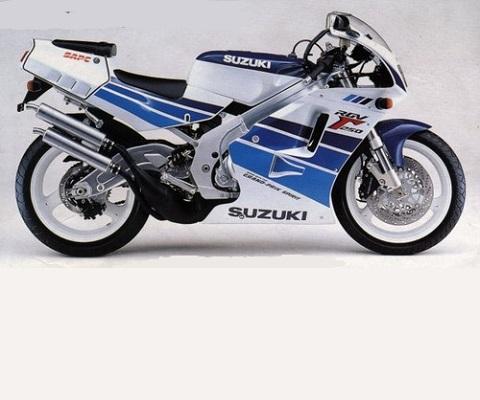 Suzuki RGV250 89-90 onderdelen