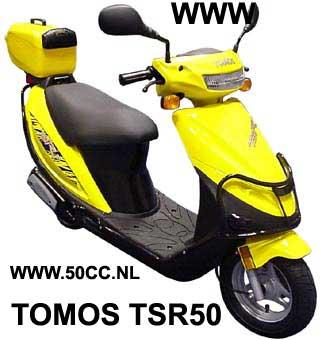 Tomos TSR50 onderdelen