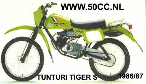 Tunturi TIGER S 86-87 (PUCH ENGINE) onderdelen