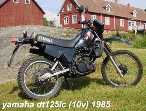 Yamaha DT125LC  onderdelen