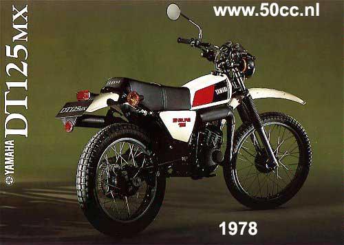 Yamaha DT125MX/E onderdelen