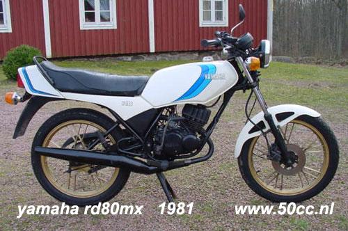 Yamaha RD80MX onderdelen