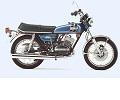 Yamaha RD250 AC /DX onderdelen